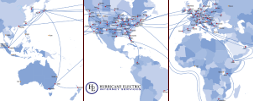 Our Global Internet Backbone provides IP Transit with low latency 9ec31ea42
